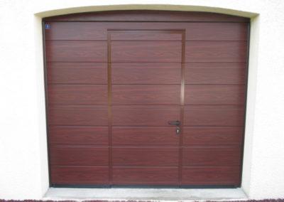 Pose de porte garage avec porte intégrée - Lapendry