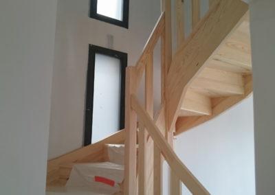 escalier-bois-lapendry menuiserie-loire1