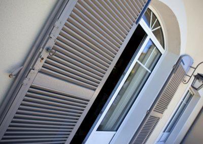 Terrasse, maison, immobilier, luxe, fenêtre, volet - Lapendry
