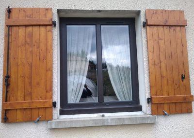 Fenêtre alu avec pose - Lapendry