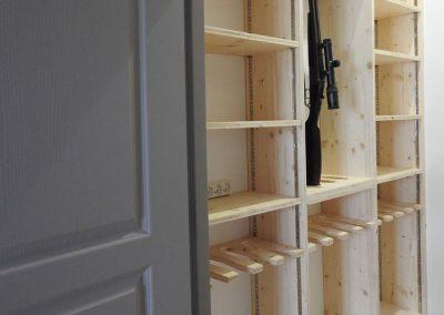 Aménagement intérieur du placard - Menuiserie intérieure - Lapendry