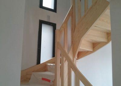 Escalier en bois - Lapendry