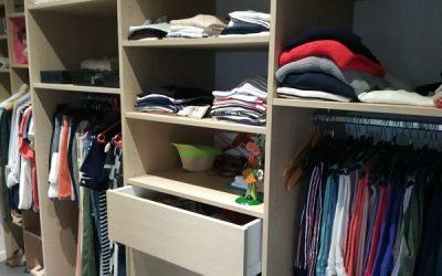 Un dressing sur mesure pour les parents