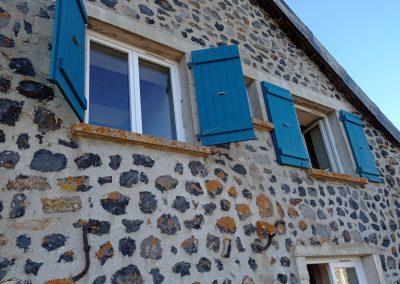 Rénovation: pose porte et fenêtres
