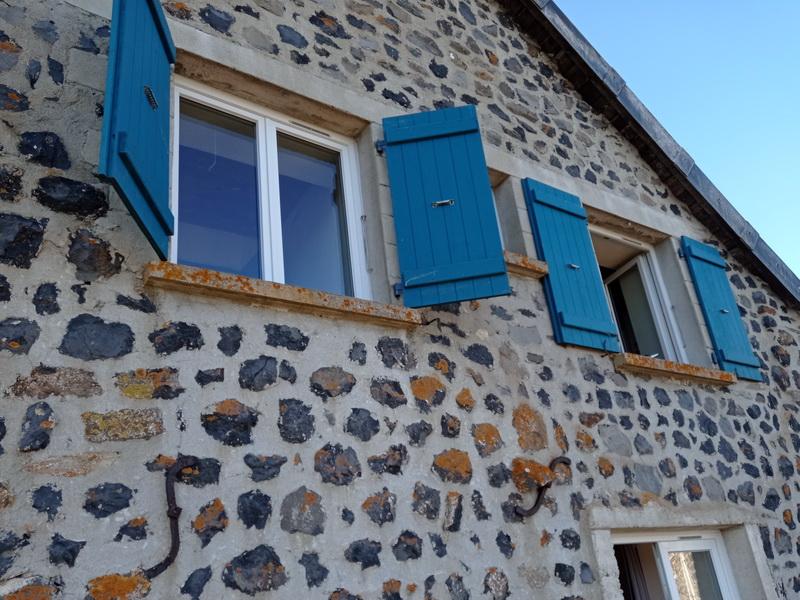 renovation: changement porte entree et fenetres par lapendry menuiserie Loire