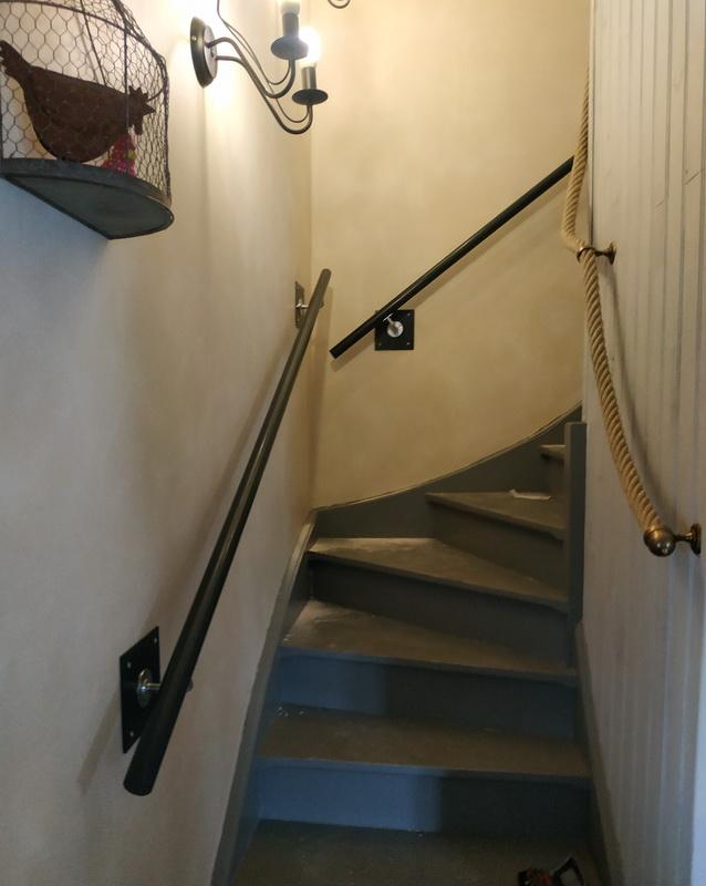 rampe sécurité escalier par lapendry menuiserie