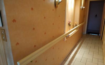 lapendry menuisierie a posé des éléments facilitant l'accessibilité des occupants d'une maison