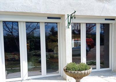 Fenêtres neuves et volets roulants solaires